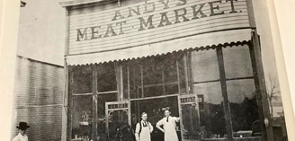Andy's Meat Market at 102 N. Deadwood
